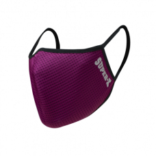 Super-X Dry Fit Adult Reusable Mask (Burgundy)